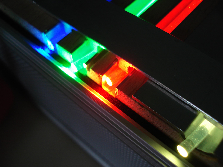 Polymere Seitenlichtfasern