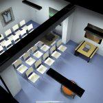 DIALux-Simulation Seminarraum